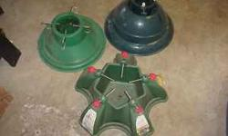 Up for sale we have 3 different heavy duty Christmas Tree stands. 10.00 each of all 3 for $25.00. Cash at time of pick up.You can call me at 419-260-1815. Location: Lambertville,MI