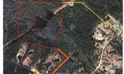 50 ACRES OFF EVANS ROAD AND ARDEN ROAD IN CHUNCHULA, ALABAMA. If you are an avid duck hunter, this is a great tract for you! 70% of this property is water and 30% is dry land. The pond loads up with d