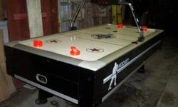 8ft x 4ft Classic Sport Air Hockey video game table w/ electronic rating keeper & & accessories. Small scaratches. Offered new for around $1000. Must see!! Located in Lehighton, PA. Have to get. $600.