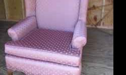 This chair is very much like the Gramercy Wingback Chair from Pottery Barn that sells for $699 or more - it may even be that, not sure. It came from an estate sale. It is in excellent used condition.