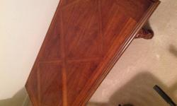 Type:Living RoomType:Tables DH large coffee table. Solid wood. Very good condition. Cash only. Can send more pictures.