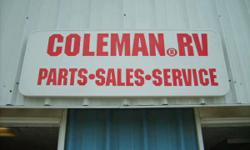 Coleman R.V. Sale's Part's & Service  NO EMAILS!!!! Please call 513-398-8191     We have plenty part's in stock, for all your R.V. need's!! Specializing, in Coleman tent trailer. Used Screen Rooms & A