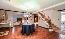 Best Value In Village Of Roslyn Harbor. (3255 Sq Ft) Center Hall Colonial On .5 Acre. Four Bedrooms 2.5 Bath Including Master Suite With Dressing Room And Walk-Ins. Grand Entry Foyer, Formal Living Ro