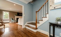 One Block From Village Green. Ch 4 Brs 2.5 Bth Colonial W/Spacious Rooms For Entertaining. Newly Renovated Gourmet Eik W/Inset Custom Cabinets, Carrera Marble Countertops And Mudroom Off Kitchen. 4 Sp