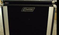 """Vintage guitar/bass amp with matching speaker cabinet Earth Sound Research Original 2000 Earth guitar amplifier & 16"""" speaker 400w 120 vac 60 hz 130 w out Has 2 inputs for the Graphic equalizer Reverv"""