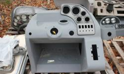 I have new overstock roto-molded and fiber glass consoles with inserts for $300. I also have an assortment of gauges, switches, steering helms, steering wheels, and binnacle throttle/shift controls av