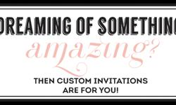 DGD Invitations is an online stationery store that creates impressive invitations with colourful invitation designs. It creates graceful invitations as you desire with endless possibilities, at $100 o