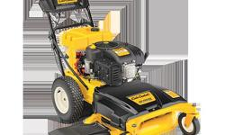 "Just bought in May 2011- electric start 420cc OHV. Has deck wash and only 18 hours on it. 420cc Cub Cadet OHV engine Electric start 33"" steel deck is engineered for superior mulching and side discharg"
