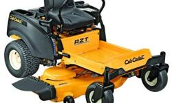 When it's time to mow a tough lawn, use the array of tools at your disposal for the most comfortable mow on this newly designed Cub Cadet RZT L 50 in. 23 HP Kohler V-Twin OHV Zero-Turn Riding Mower. T