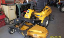 Cub Cadet 50in Zero Turn Mower Bought new 2009 Used only 2 seasons (minimally) In excellent condition. Please feel free to call me with any questions. 989-743-3885 Barb or Tony  // //]]> Location: Cor