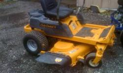 This mower we just had tradin.. We just had it all serviced, Sharpened blades, oil change, New Air Filter, New Fuel Filter, New Rear Tires+ Wheels... It is ready for some fun this summer.. Call 785-59