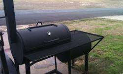 Custom Barbeque Pits and Smokers! Made to order! Pits and Smokers can be mounted on trailers, (you provide trailer) or free standing. Any shape and size can be done, the pictures below show some optio
