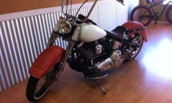 Custom Harley Davidson 2000 Fatboy Lots of extras Legal Runs Great! Call Alan for details