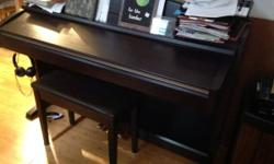 2008 Yamaha Clavinova CLP240, fantastic piano, super GH3 action, with 128 polyphony, fantastic noise and feel and no tuning. Piano is in outstanding (like brand-new) condition, includes bench initial