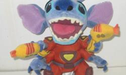 """Disney Lilo & Stitch 9"""" Double Laser Stitch Alien Plush By The Disney Store Asking $20.00 OBO Hard to Find Disney Store Original favorite extra-terrestrial creature becomes a soft and cuddly keeper wi"""