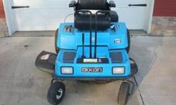 Thanks for looking at my item. You are currently looking at a Dixon ZTR model 4422. The mower has a 42in blade, and a 14 hp Kohler Command Pro Series engine. It is in great shape and just got a rebuil