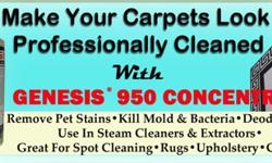 Professionally Clean Your Carpets Yourself!Over time, a once new carpet can look worn and used. Whether it be pets, kids or just general traffic, some carpet stains just never seem to go away. There a