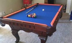 """Need an assisting practical any kind of pool table step or refelt / we prepare to do the work for you. Chris and Toms Billiard Solution has been offering the Inland Northwest considering that 1988. """"E"""