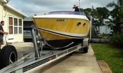 Donzi Z-29 Foxfire 1987 boat hull for sale Don Aronow's last production boat out of the factory in 1986 for the 1987 boat show nice hull all original. This is hull #1 shown in the literature as verifi