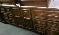 Solid wood dresser with mirror in great condition.   For more info please call 717-7411 or text 907-717-9438 Or stop in and take a look 10am-7pm. everyday.  Located at 4O9 W Northern Lights blvd, we a