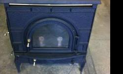 Dutch West 2461 wood burning stove. Used for 1 winter, then stored. Any questions or interest please call 785-393-0020. Thanks for looking!  Location: Lawrence