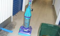 Used purple and light blue dyson root 8cyclone vacuum. we are selling everything we can to get a place to live. we have it in storage on coast hwy in Oceanside and can meet you there, thanks and God B