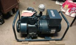 Kohler Generator model 3mm25 still on the factory pallet. Never had gas in the tank or been started,. Great collector piece for any small engine collection, all original tags and paperwork included. $