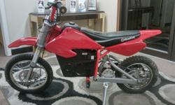 RAZOR MX 500 ELECTRIC DIRTBIKE RUNS AND GOES ABOUT 18MPH INCLUDES CHARGERPICK UP IN EDGEWOOD MD HARFORD CO 21040