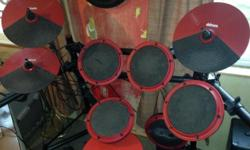 LEGENDARY BOISE 901's top of the line cost new $1900 plus $100 for speaker stands . Asking $750. firm . . . ELECTRIC drum set great condition set up and hooked up to large PA SYSTEM so you can hear th
