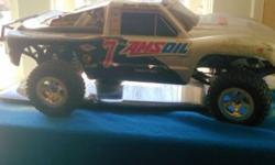 I have a amsoil rc truck needs a battery and a motor everything works besides that make offers