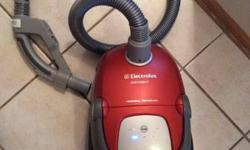 for sale is an amazing fully operating Electrolux Oxygen Vacuum Cleaner portable 3wheel 360 degree microseal innovation. the little connector piece utilized WITh this vacuum is NOT INCLUDED and will c