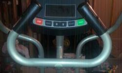 Hardly used Horizon EG5 Elliptical Machine. Has actually been sitting unused, too busy with the sports and kids. Retails for 600.  Information from the web site:.  Horizon EG5 Elliptical Trainer.  Wit