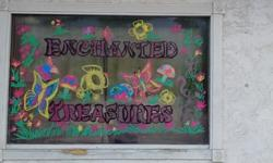Enchanted Treasures (Thrift & Consignment) we have lots of clothes for everyone we have glass tables, designer purses, shoes, blankets, vintage & Antique items books and more. We also take donations i