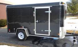 6X12 ROYAL CARGO TRAILER/EXCELLENT CONDITION,SIDE DOOR,ROOF VENTS,INT.LIGHTS,NEW SPARE TIRE,EXTRA TONGE JACK WITH WHEEL,ALWAYS STORED INDOORS,VERY LITTLE USE,TITLE&PAPER WORK,3,000LB.AXEL,HAS BEEN UND