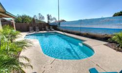 January only available. Please go to VRBO 626486 for dates and prices - from $150 per night. Sorry - No pets, No Smokers. We bought this lovely Red Mountain, Mesa 3 bedroom pool home and added tons of