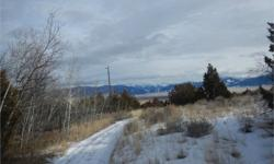 CREEK, TREES and VIEWS!! What so many of us are looking for. This 20 acre property with NO COVENANTS is located about 10 miles west of Ennis and Madison River. With varied terrain, lots of trees, and