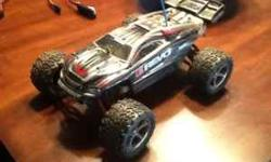 I am selling a Traxxas 1/16 model e-revo. I have added a vxl brushless motor and speed control making this the same model as the e-revo vxl. The vxl sells new in box for about 290 dollars making this