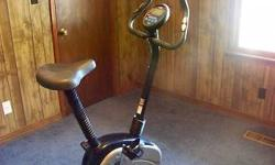 BOUGHT BRAND NEW GREAT CONDITION, STAMINA 5200 PROGRAMMABLE MAGNETIC EXERCISE BIKE, COMES WITH AN ADDITIONAL BRAND NEW POWER HEAD, SHOWS HEART RATE, SPEED, DISTANCE, CALORIES, ETC. TOO MUCH TO MENTION THAT IT DOES, POSSIBLE DELIVERY, ASKING $100 CALL OR