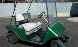 Older ezgo gas golf cart New paint New folding removable cover runs great 700Obo Call or txt 208 818 5223 Location: Lewiston, id