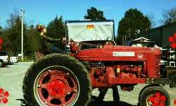 I have a M farmall for sale.I bought it for my daughter because she wanted to try tractor pulling and now she's to busy to do so.It pulls in the farm stock class 5500 lbs to about the 6500 lbs class m