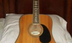 Acoustic Guitar Fender Starcaster Model # 0910105125 6-strings Used very little Like New Only Asking $150 With Gig bag (512)818-3300 cell