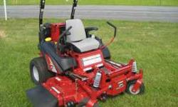 WE ARE AN AUTHORIZED FERRIS DEALER. WE WARRWNTY AND SERVICE ANYTHING WE SALE. LIST PRICE ON THIS MOWER IS $13,337.00 AND ON SALE FOR $11,899.00 PLEASE CALL BEFORE PURCHASING MOWER 724 887 9375 ASK FOR