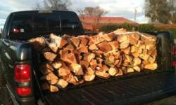 "*OAK FIREWOOD* HARDWOOD* FREE DELIVERY *ELK GROVE +SURR AREAS * *SPLIT **FIREPLACE SIZE AVG 14-18"" *$ 80 - 1/4 cord ( see pic*2 rows stacked across bed) *$150 - LONG BED TRUCK FULL 916-718-5736 *Leave"