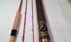 "Fly Rods. SweetGrass Bamboo Fly Rod, $900.00. SR Mantra 7' 9"" 4/5wt, 3pc. New in the tube. Stunning smooth casting Rod, acquired at SweetGrass in TwinBridges, MT. Fly Rods, excellent presents. Offers"