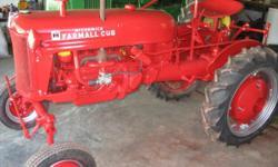 For sale Farmall Cub Tractor call 865-992-4481 // //]]>
