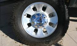 I have other stuff to get rid of. You can type 12345 in the search bar to see All my ads.  Great set of OEM 2005 F250 Rims and Tires. Need to fit 99 and up F250 and 350. When you turn on 99-02(With Le