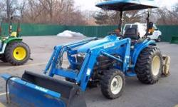 """FORD TC29D/F7308 LOADER/FT. BLADE YEAR 2001 HOURS 706 STOCK# 2840 $12,500.00"" 517-676-9588 ask for Nick Location: Mason"