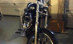 custom harley built in 2007 only ridden short distances.has113 s@s arlen ness front end and lots of chrome and polished aluminum.please feel free to call me for more info.