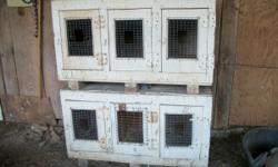 I have two 3 stall rest boxes for chickens you get both boxes for 50.00. I also have a couple of mini asil roosters for 100.00 each they weigh from 3 lb to 3.3 lbs and they are coming 4 yr old. The re
