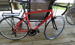 I have for sale a less than 1 year old Gravity Liberty bike from bikesdirect. http://www.bikesdirect.com/products/gravity/liberty_1.htm.  I have changed both rims, the back with a durable 36 talked ri